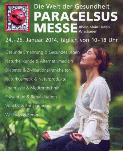 Paracelsus Messe 2014 Wiesbaden