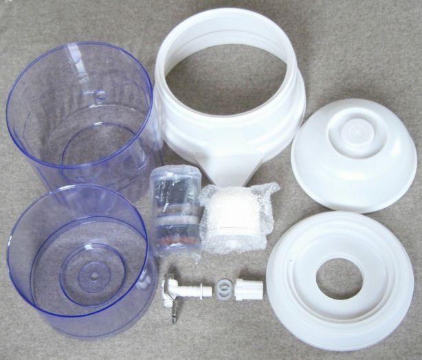 Wasserfilter PureWaterPot Einzelteile